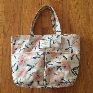 Snidel Shoulder Purse Handbag Tote Floral